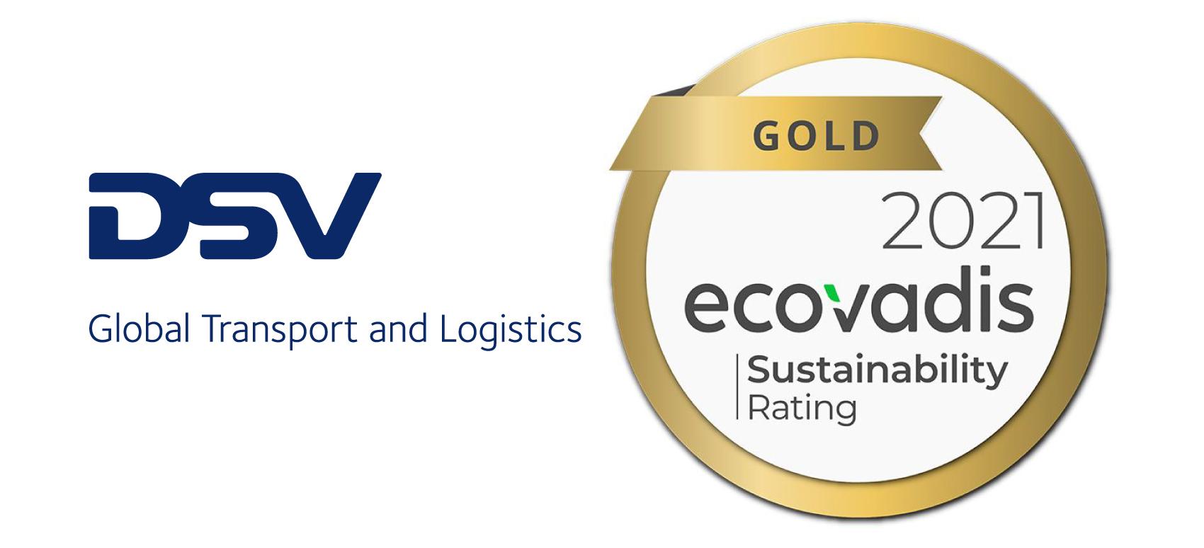 ecovadis gold rsc dsv