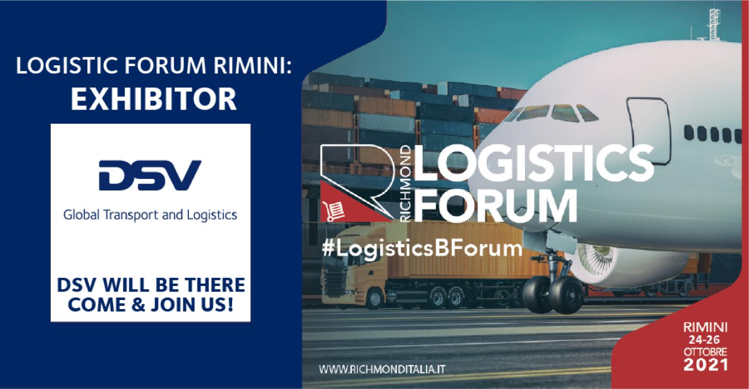 dsv partecipa logistics forum rimini