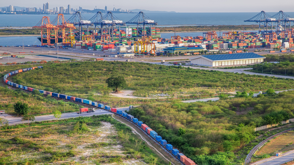 DSV Rail is a viable option to blank sailings and cancelled flights from China