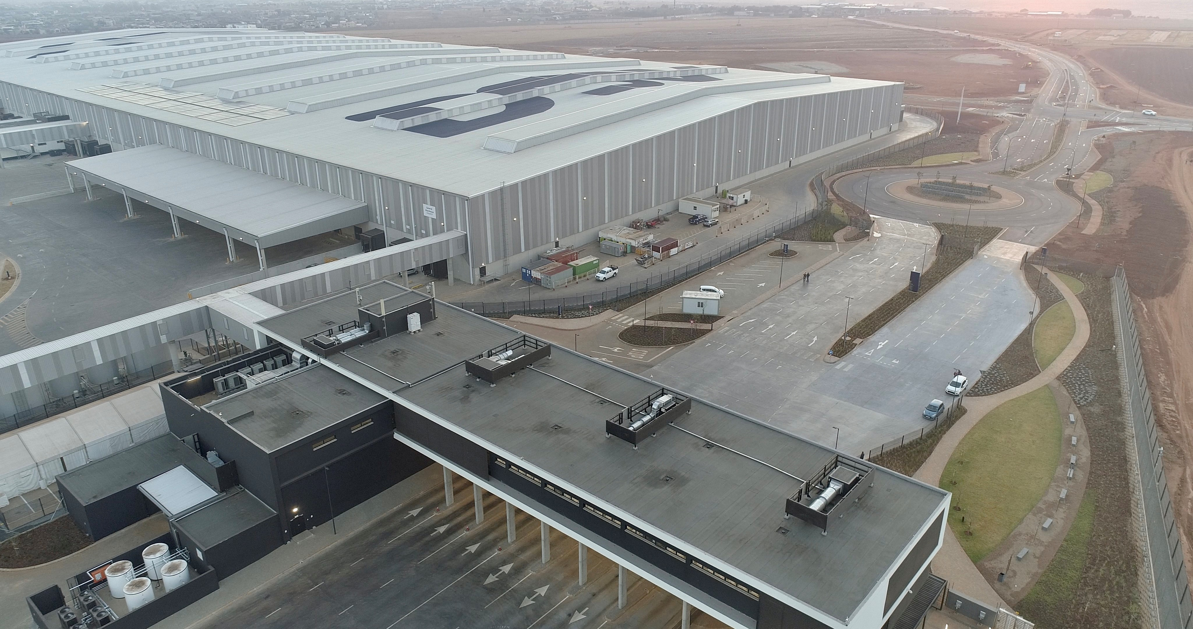 DSV inaugurates the largest integrated logistics centre in Africa