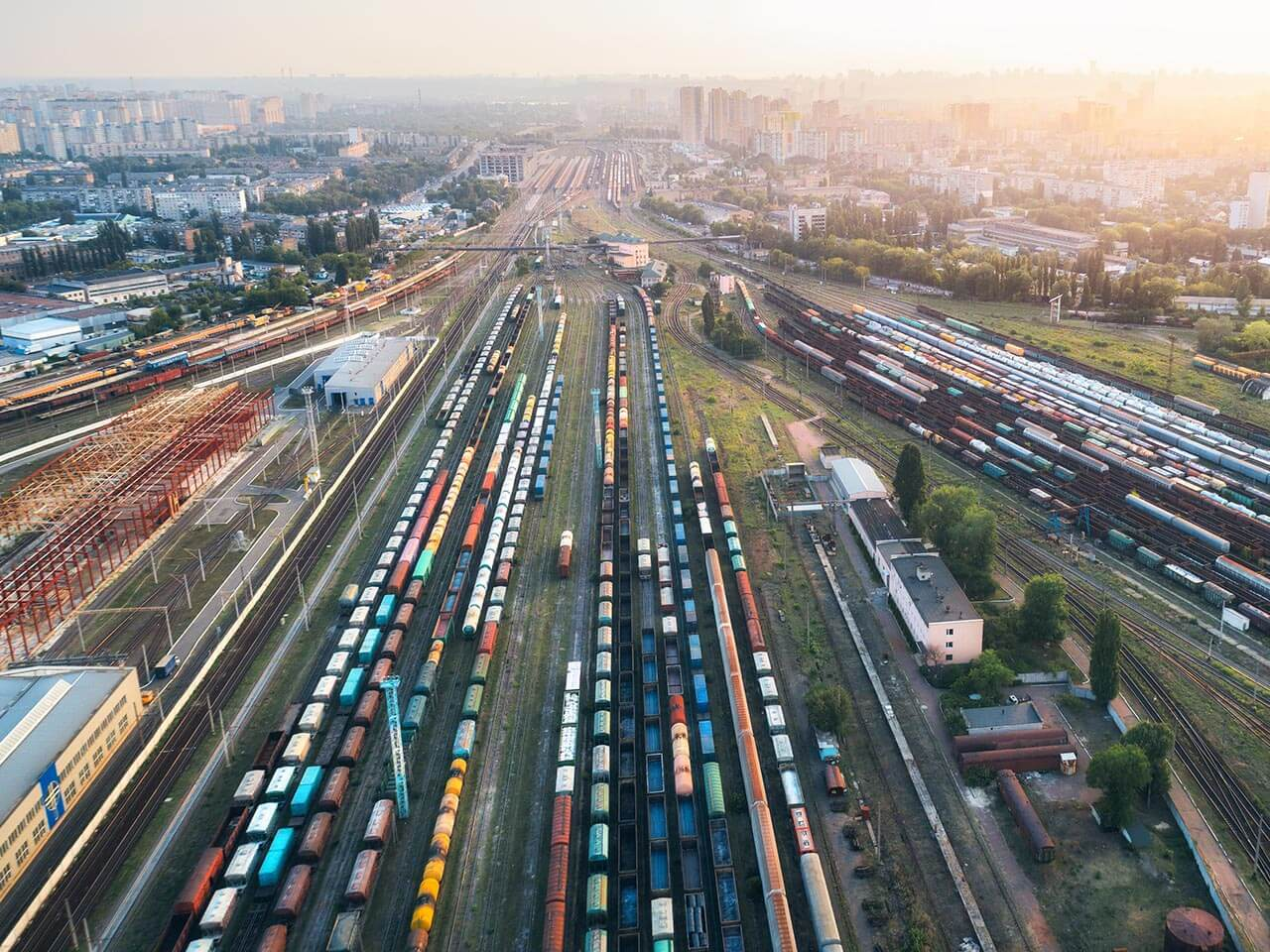 Key advantages of rail transport