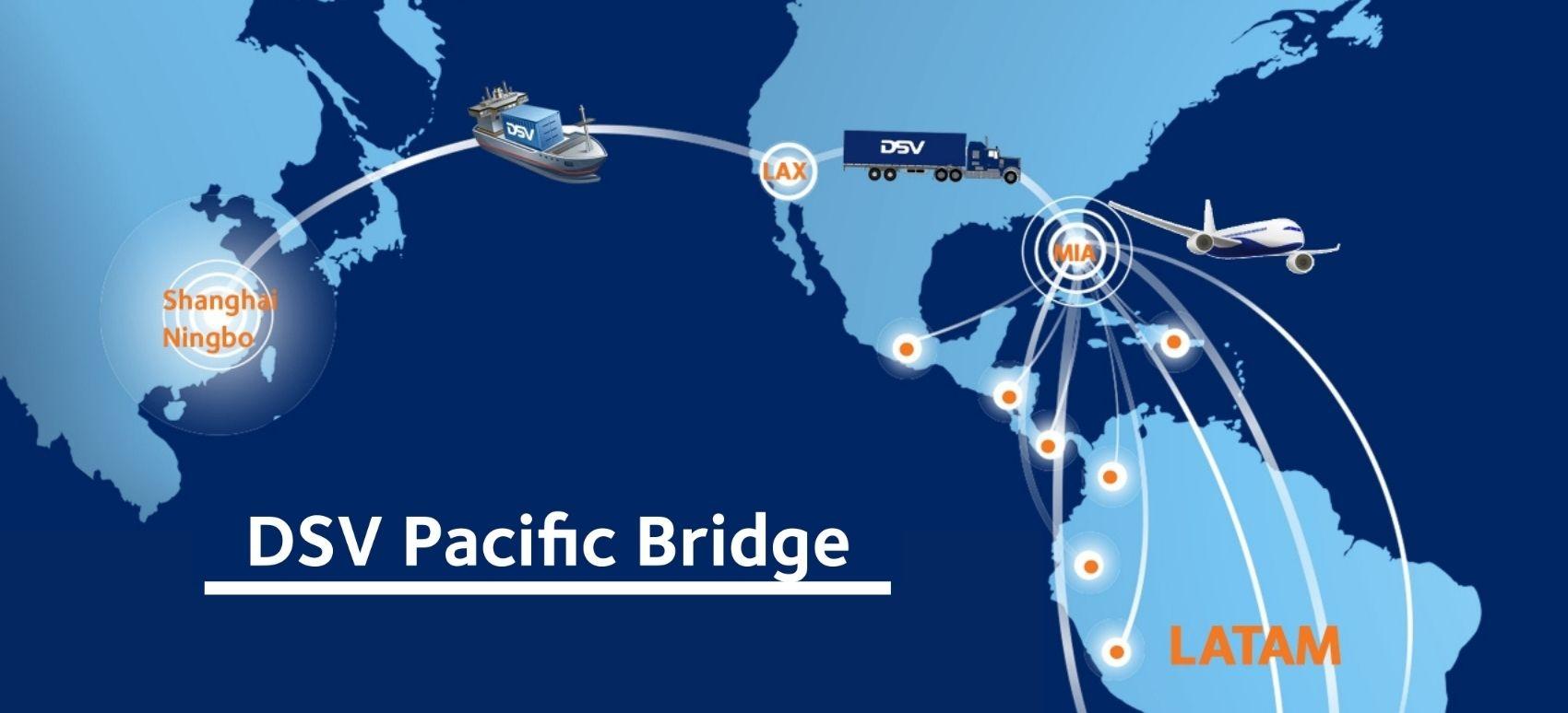 Pacific Bridge: Solución multimodal de China a LATAM | DSV