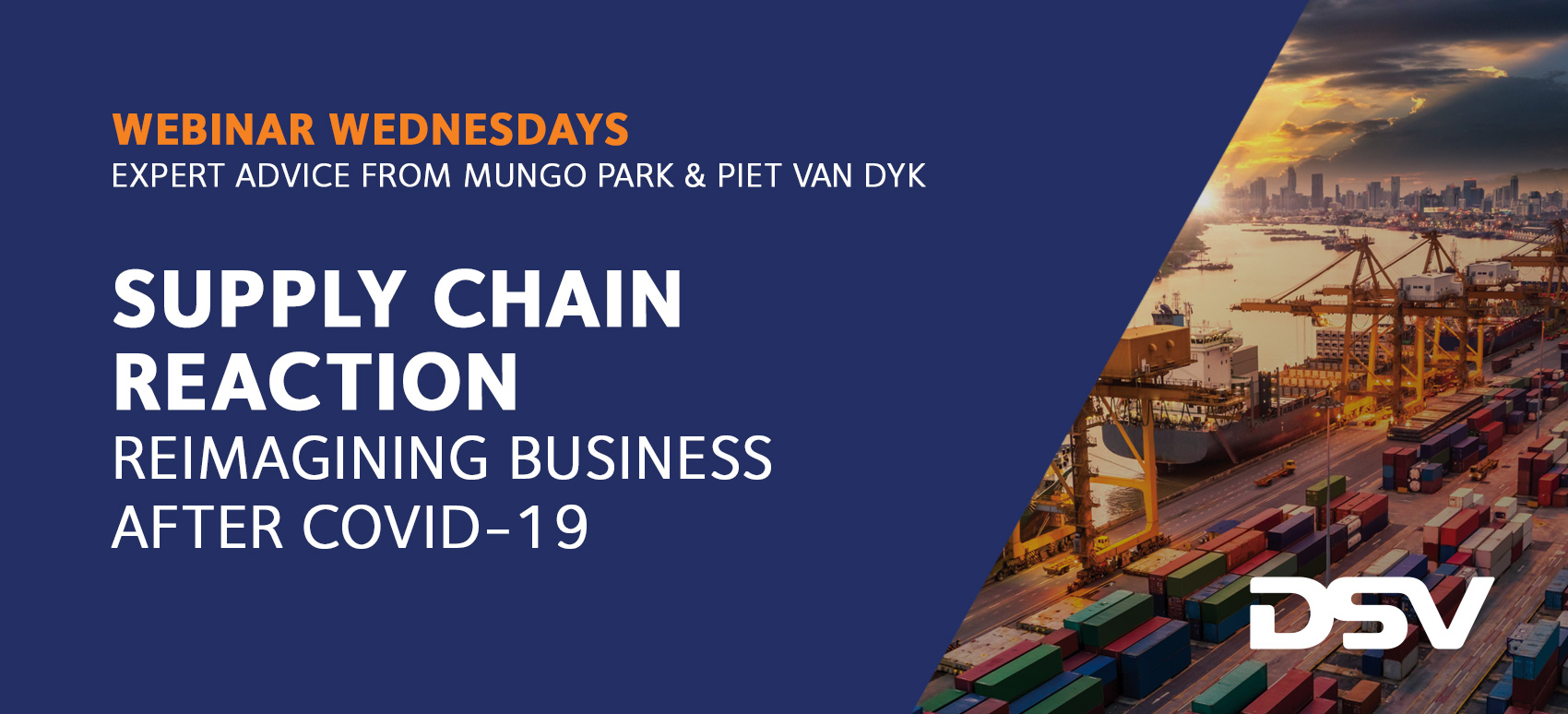 Future proofing supply chains in a post-Covid19 World Webinar