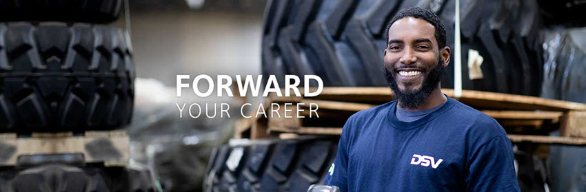 Sign-up for infor on vacancies and job events at DSV