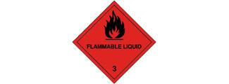 Class 3: Flammable liquids