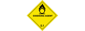Class 5.1 /5.2 - Oxidizing Agents and organic peroxide