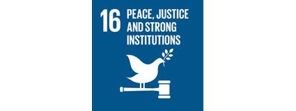 UN sustainability goal 16