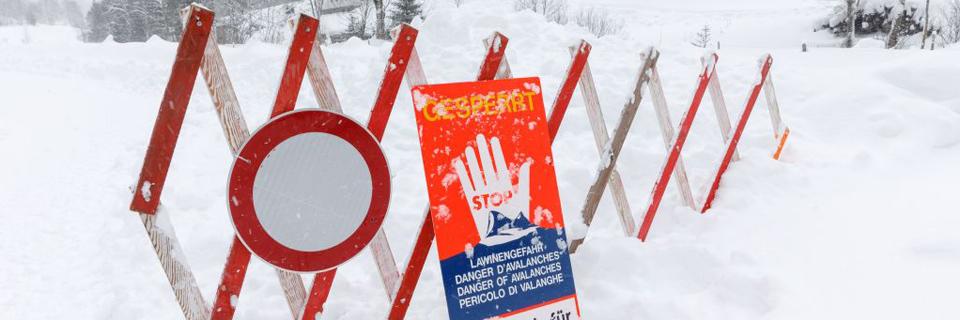 Snow chaos in Austria
