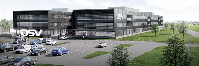 DSV construit le plus grand centre logistique d'Europe à Horsens, au Danemark