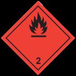 Class 2.1 Flammable gasses