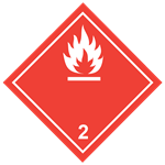 Class 2.1 Flammable gasses