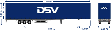 Mega trailer DSV