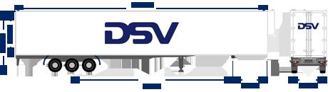 Reefer trailer DSV
