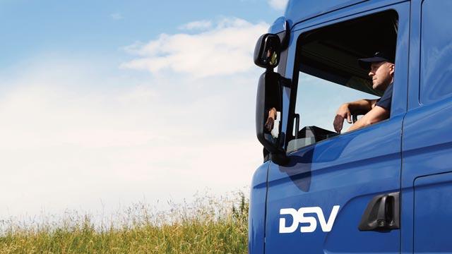 Wordt een DSV vervoerder