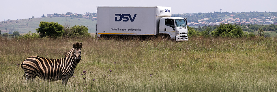 dsv truck south africa