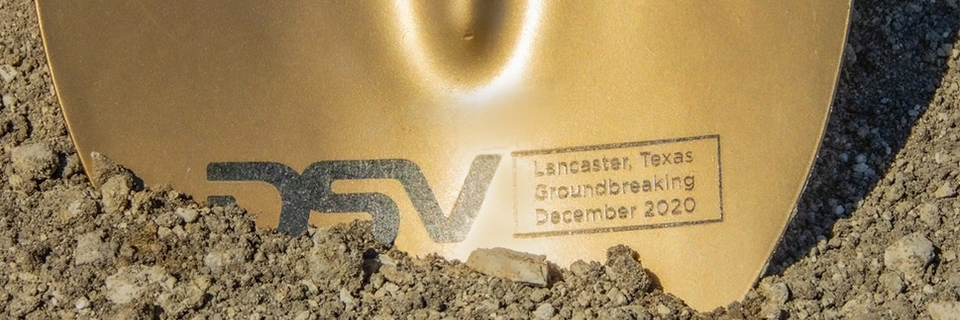 dsv groundbreaking shovel