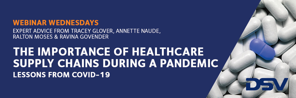 importance of healthcare supply chains during a pandemic